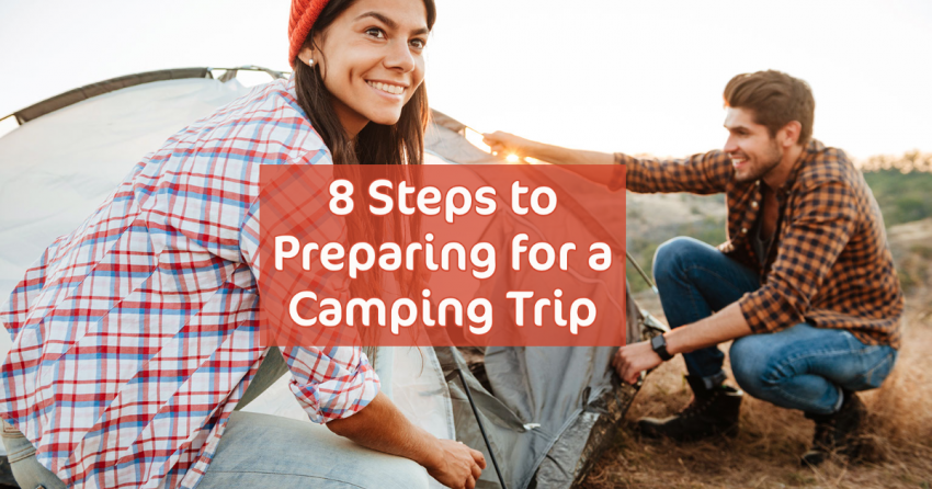 how to prep for camping